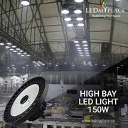 Use The Energy Efficient 150W UFO LED High Bay Lights