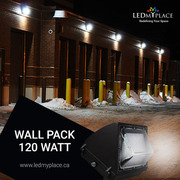 Use 120w LED Wall Pack Lights to Make Outer Areas More Brighter